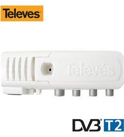 Televes amplificador de vivienda tdt 2 generación ''cei'' 8424450188873 - 52029