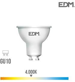 Bombilla dicroica led gu10 8w 600 lm 4000k luz dia Edm 8425998353891 - 35389