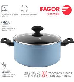 Fagor olla maxima+tapa ø24cm azul aluminio 3004 8429113801229 - 78550