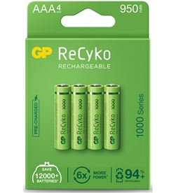 Gp pila recargable alta capacidad r3 aaa (blister 4 pilas) 4891199187278 - 38425