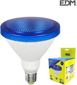 Bombilla par38 led e27 15w 1200 lm luz azul ip64 Edm 8425998988758 - 98875