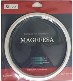 Sil.ex junta para olla - de silicon - adaptable para magefesa - ø22cm 8435051393504 - 85777