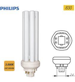 Philips bombilla lynx te fsd 42w 830k gx24q-4 8711500611345 - 97500