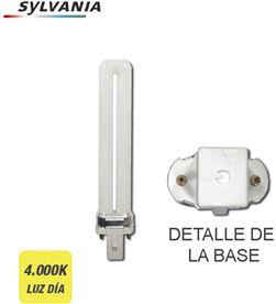 Bombilla bajo consumo lynx-s 7w 840k luz dia casquillo g-23 ''Sylvania'' 5410288258898 - 97570