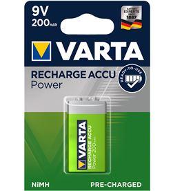 Varta pila recargable accu power 9v 200mah blister 1ud 4008496550814 - 38659