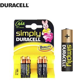 Duracell pila simply lr3 aaa (blister 4 pilas) 5000394077164 - 38036