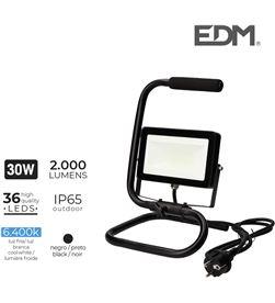 Edm foco proyector led con pie 30w 6400k 2000 lumens 8425998703252 - 70325