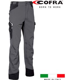 Cofra pantalon hagfors gris oscuro negro talla 44 8023796531369 - 80562