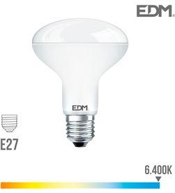 Edm bombilla reflectora led r80 e27 10w 810 lm 6400k luz fria 8425998354843 - 35484