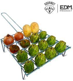 Edm parrilla para verduras 16 unid 8425998768343 Barbacoas - 76834