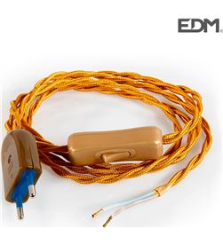 Enec kit cordon 2x0,75 120+80cm oro 8425998235463 Accesorios - 23546