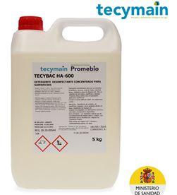 Tecymain bactericida levuricida 5l tecybac h600 8425998965391 - 96539
