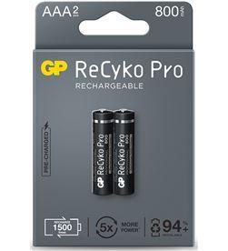 Gp pila recargable recyko+ aaa r3 800mah (blister 2 pilas) 4891199187575 - 38424