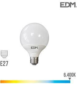 Bombilla globo led ø 95 mm e27 10w 810 lm 6400k luz fria Edm 8425998988000 - 98800