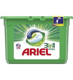 Ariel pods 3 en 1 regular 18 dosis 8001090843876 DROGUERÍA - 95002