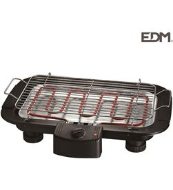 Barbacoa electrica - 2000w - Edm 8425998076448 Barbacoas - 07644