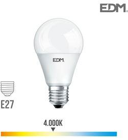 Bombilla standard led e27 12w 1055 lm 4000k luz dia Edm 8425998983456 - 98345