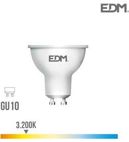 Edm bombilla dicroica led gu10 7w 550 lm 3200k luz calida 45° 8425998982503 - 98250