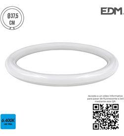 Edm tubo circular led g10q 20w 1700 lm 6400k luz fria (equipo 40w) 8425998311891 - 31189