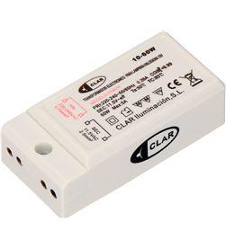 Clar transformador electronico para lampara halogena 12v 10/60 w 67x33x20 8427227125415 - 31706
