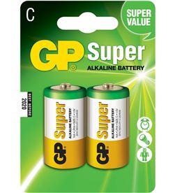 Gp pila alkalina lr14-b2 1,5v (blister 2 pilas) 4891199000010 - 38418