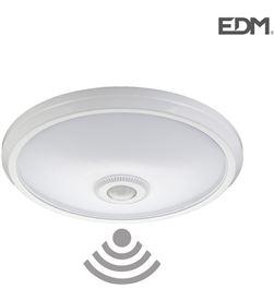 Edm aplique superficie con sensor ip20 2xe27 medidas: ø 30cm alto 9,6cm 8425998325072 - 32507