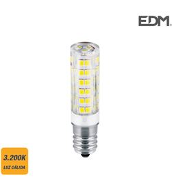 Edm bombilla pebetero led e14 4,5w 400 lm 3200k luz calida 8425998988871 - 98887