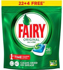 Fairy lavavajillas todo en 1 orig 22+4 4084500097872 - 95092