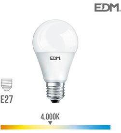 Edm bombilla standard led e27 20w 2100 lm 4000k luz dia 8425998987126 - 98712
