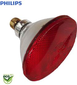Philips bombilla par infrarrojos - 175w ''energy saver'' - e27 - roja (terapeutica) - 8711500600530 - 35201