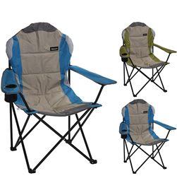 Redcliffs silla plegable metalica para camping 108x60x60cm diam. tubo 18mm 8719202949551 - 73723