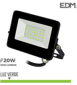 Edm foco proyector led 20w luz verde 8425998703184 - 70318