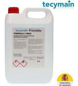 Tecymain bactericida virucida 5l 2who 8425998965384 - 96538