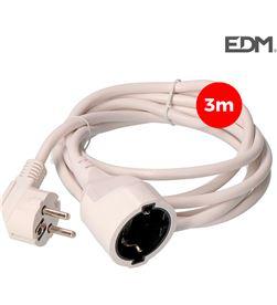 Edm prolongacion manguera 3x1,5 t/tl 3mts blanca 8425998232028 - 23202
