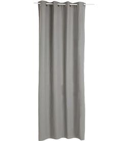 Atmosphera cortina con ollaos color gris 3560239271697 - 68004
