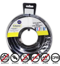 Edm carrete cablecillo flexible 2,5mm negro 50mts libre-halogenos 8425998284768 - 28476