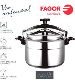 Olla rápida chef extremen 15l Fagor 8429113800161 Ollas - 78504