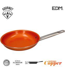 Edm sarten antiadherente - ''copper line'' - excilon tecnology - ø30cm - 8425998765946 - 76594