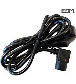 I-sheng cable acodado ordenadores de 2mts edm 8425998237030 - 23703