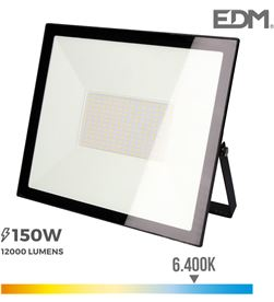 Edm foco proyector led 150w 6400k 8425998703375 Proyectores - 70337