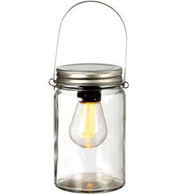 Luca jarron con bombilla led blanco calido funciona a pilas 3xaaa 14x8,5cm 8718861492866 - 71724