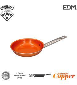 Edm sarten antiadherente - ''copper line'' - excilon tecnology - ø20cm - 8425998765908 - 76590