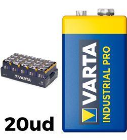 Varta pack 20 pilas 6lr61 9v industrial pro 4008496356799 - 38595