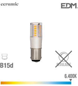 Edm bombilla bayoneta led b15d 5.5w 650 lm 6400k luz fria base ceramica 8425998989366 - 98936