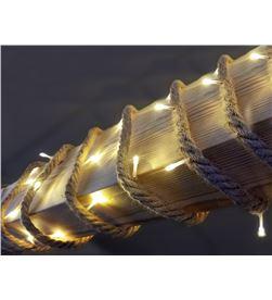 Lumineo cuerda de yute con bombillas led interior 3.9mts 40 leds 220v 8718533308099 - 71339