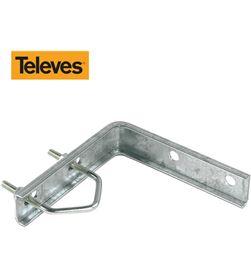 Televes soporte en escuadra 128mm zinc+rpr 8424450024096 - 52038