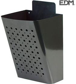 Edm buzon publicidad negro acero galvanizado 8425998858075 - 85807