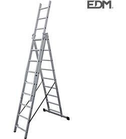 Edm escalera transformable aluminio 3x9 peldaños 8425998750935 - 75093