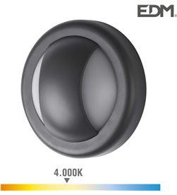 Edm aplique led 6w 250 lumens 4.000k luz dia ip65 redondo 8425998321562 - 32156