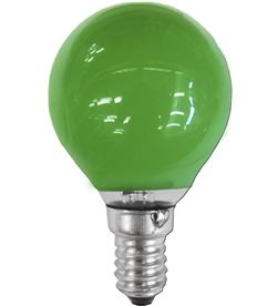 Rohs bombilla esferica e14 25w 220/240v verde 8009935032300 - 35158